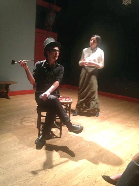 Brett as CLOVIS. With: Layla Khoshnoudi.