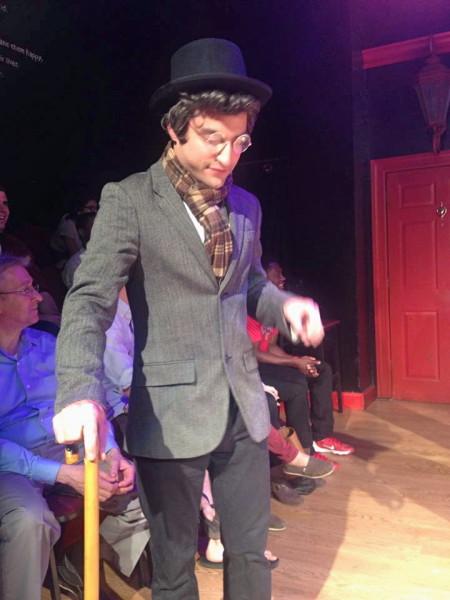 Brett as MR. LAWRENCE