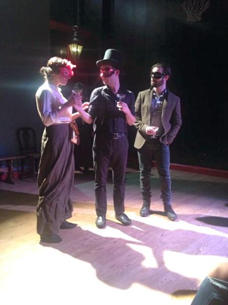 Brett as CLOVIS. With: Layla Khoshnoudi, Stephen Stout.